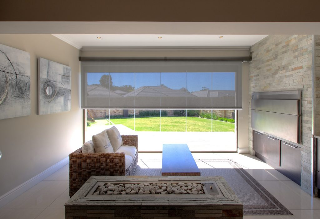 Protection from the Sun with Sheerweve Blinds