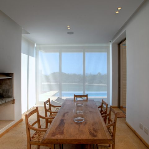 Sheerweave Blinds Protecting Furniture from the Sun