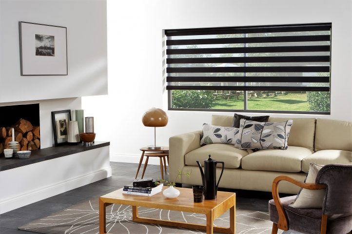 Exclusive Blinds - living room with links